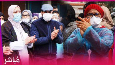 موظفي وأطر مستشفى محمد الخامس بطنجة يحتجون على تجاهل الحكومة ووزارة الصحة لمطالبهم 3