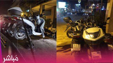 الأمن يشن حملة مشددة على الدراجات النارية بطنجة 3