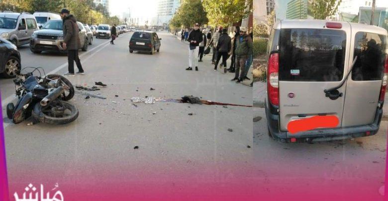 وفاة سائق دراجة نارية في حادثة سير بطنجة 1