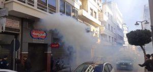حريق يأتي على مطعم وسط مدينة طنجة 4