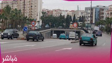 """بسبب حوادث السير..جماعة طنجة تمنع """"الدوبلاج"""" بممرات تحت أرضية 4"""