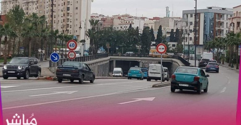 """بسبب حوادث السير..جماعة طنجة تمنع """"الدوبلاج"""" بممرات تحت أرضية 1"""