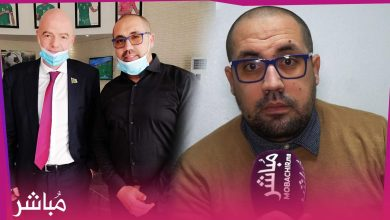 """""""بسام العاقل"""" يطرق باب العالمية ورئيس الفيفا يشيد بشركة مغربية لصناعة الألبسة الرياضية 1"""