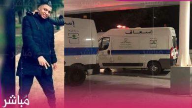 وفاة الشاب ضحية شجار حي فال فلوري بطنجة 3