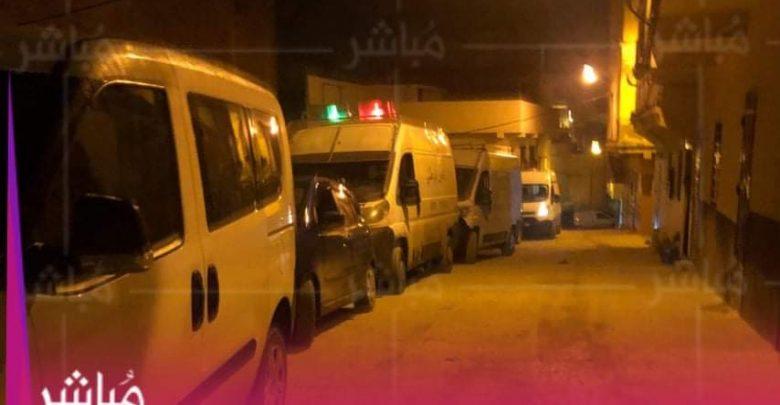 حصري..استنفار أمني بخندق الورد بطنجة بعد الإعتداء على عناصر الشرطة 1