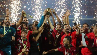 المنتخب الوطني يتوج بكأس أمم إفريقيا للاعبين المحليين 5