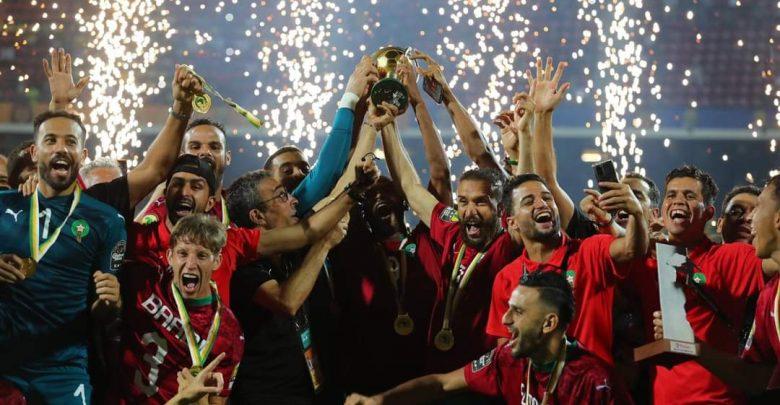 المنتخب الوطني يتوج بكأس أمم إفريقيا للاعبين المحليين 1