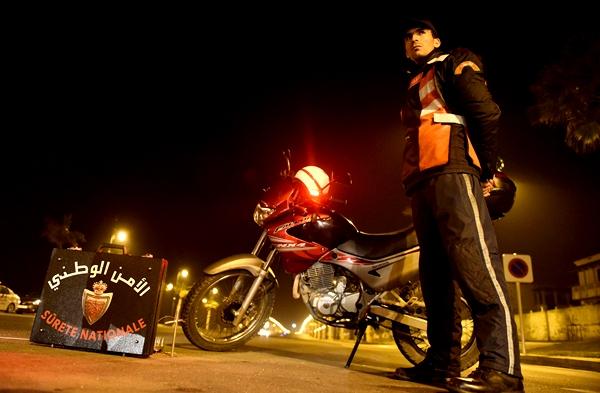 """حملة أمنية مشددة على """"الدراجات النارية"""" بشوارع طنجة 1"""