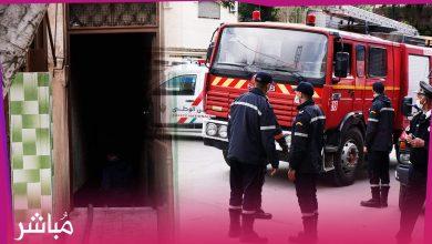 """أياما بعد فاجعة مصنع طنجة..فرق الإطفاء تسيطر على حريق شبّ بمصنع """"سرّي"""" أخر 3"""