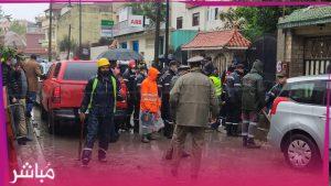"""فاجعة..سقوط ضحايا في حادث غرق """"مصنع"""" بطنجة 2"""