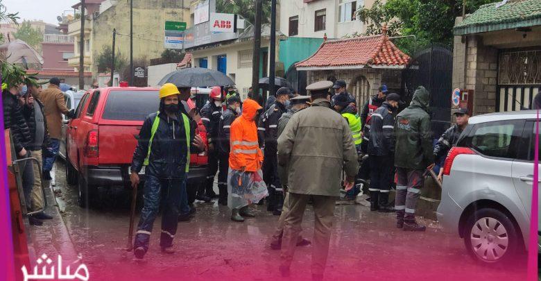 """فاجعة..سقوط ضحايا في حادث غرق """"مصنع"""" بطنجة 1"""