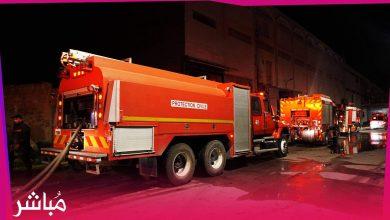 فرق الإطفاء تسيطر على حريق نشب بوحدة صناعية بطنجة 3