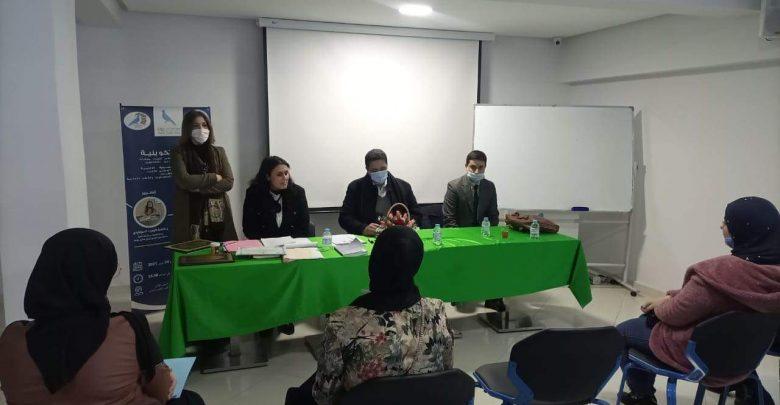 حزب الحمامة بطنجة ينظم دورة تكوينية للطلبة المقبلين على مباراة المنتدبين القضائيين 1