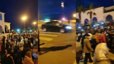 نايضة في الفنيدق..والأمن يستخدم القوة لتفريق المتظاهرين 2