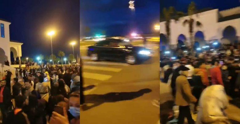 نايضة في الفنيدق..والأمن يستخدم القوة لتفريق المتظاهرين 1