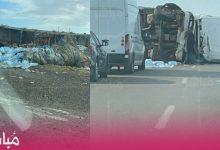 مصرع شخصين في حادثة سير بطريق مولاي بوسلهام 7