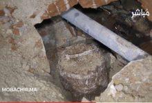 العثور على قنبلة قديمة في حي القصبة بطنجة يستنفر السلطات 6