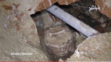 العثور على قنبلة قديمة في حي القصبة بطنجة يستنفر السلطات 3