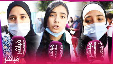 شعارات قوية لتلاميذ طنجة تضامنا مع أساتذة التعاقد الذي تعرضوا للتعنيف 4