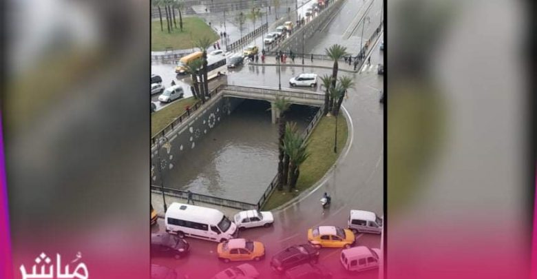 فيضانات شديدة تغرق مدينة تطوان وتخلف خسائر مادية جسيمة 1