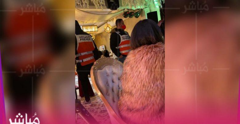 الأمن يداهم حفل زفاف بحي طنجة البالية والعريسان يلوذان بالفرار 1