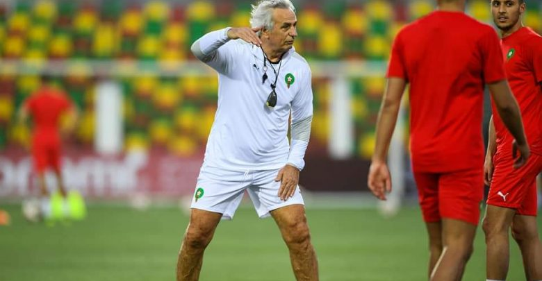 """هاليلوزيتش """"موريتانيا خلقت لنا مشاكل في الرباط والإنتصار عليهم صعب"""" 1"""