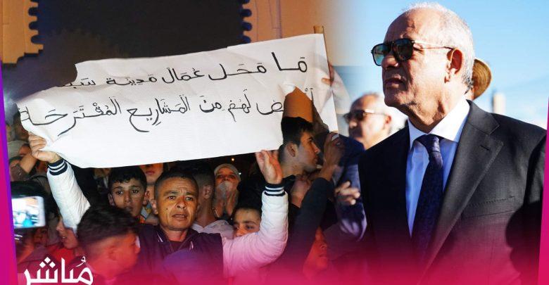 في أول إختبار له..مهيدية ينجح في إخماد احتجاجات الفنيدق 1