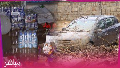 شاهد الأضرار الجسيمة التي خلفتها فيضانات تطوان في ممتلكات وسيارات المواطنين 1