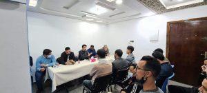 حزب الحمامة يقتحم قلعة الإدريسي ويؤسس فرعا لشبيبته 3