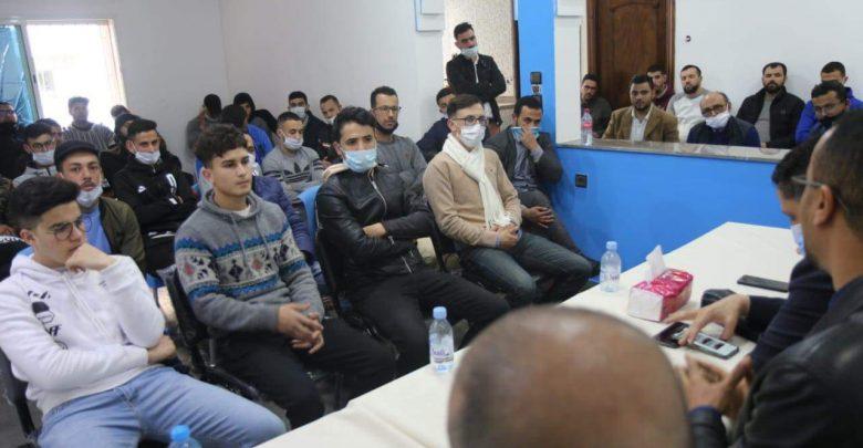 حزب الحمامة يقتحم قلعة الإدريسي ويؤسس فرعا لشبيبته 1
