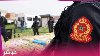 """الديستي يوقع بشاحنة """"مزورة"""" محملة ب3 أطنان و300 كلغ من """"الحشيش"""" 6"""