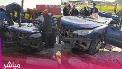 مصرع شخص وإصابة فتاة في حادثة سير خطيرة بطنجة 6