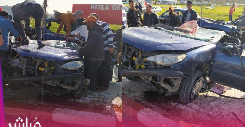 مصرع شخص وإصابة فتاة في حادثة سير خطيرة بطنجة 1