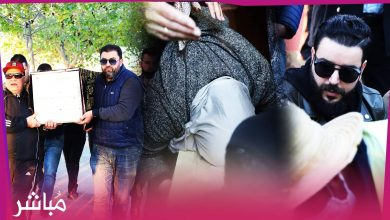 في جو حزين تم تشييع جنازة المخرج محمد اسماعيل بمدينة مارتيل 3