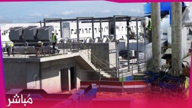 بغلاف مالي مهم..أمانديس توسع محطة بوخالف الخاصة بمعالجة المياه العادمة 5