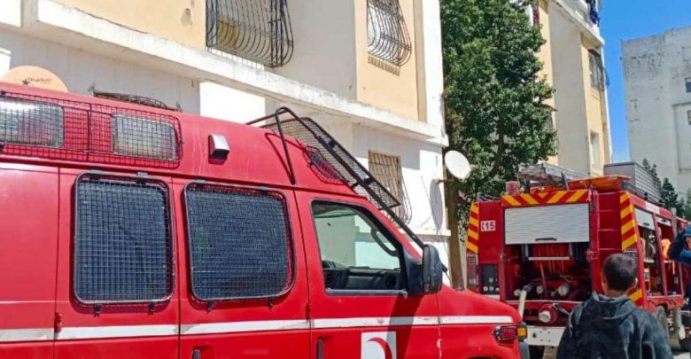 حريق يأتي على شقة سكنية بطنجة 1
