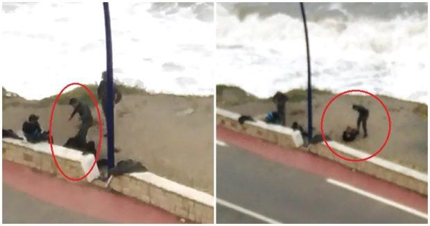 الداخلية تحقق في فيديو اعتداء عنصر من القوات المساعدة على شخص في الفنيدق 1