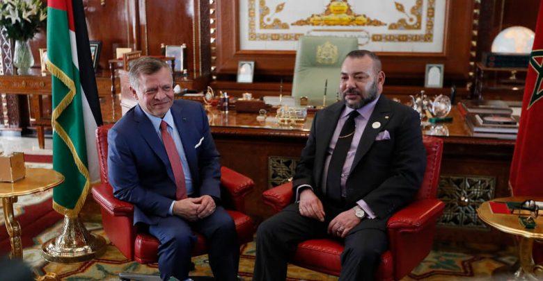 الملك يهاتف ملك الأردن ويدعم قراراته لضمان استقرار بلاده 1