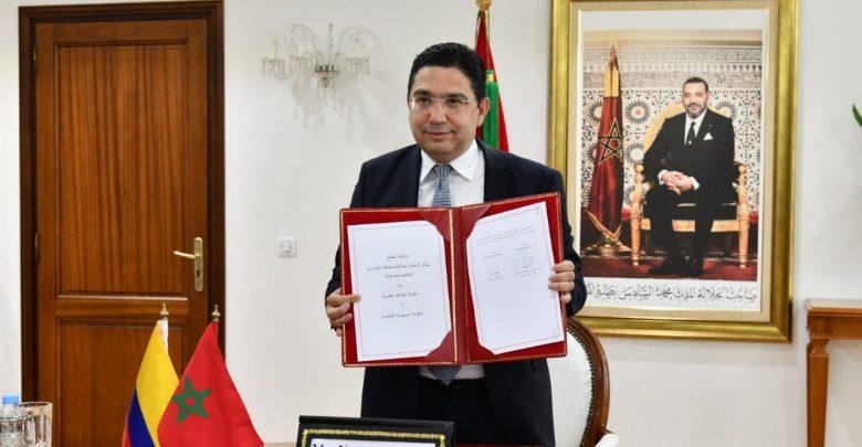 المغرب وكولومبيا يلغيان التأشيرة ويوقعان شراكات استراتيجية 1