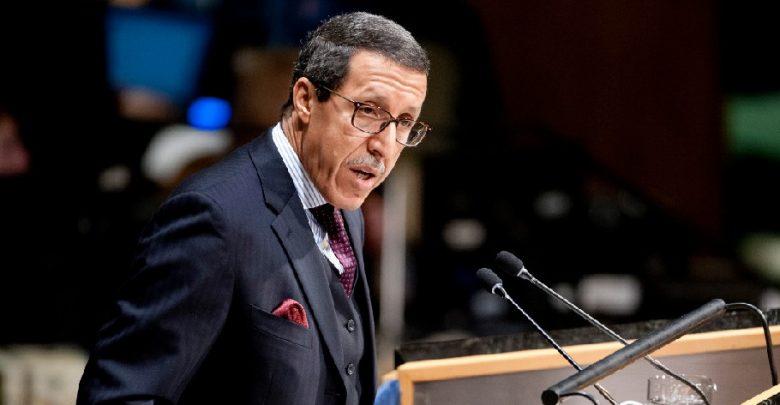 عمر هلال يفند ادعاءات الجزائر ويندد بالدعاية الكاذبة 1