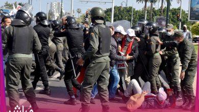 مضايقات القوات العمومية تدفع أساتذة التعاقد إلى التصعيد 4