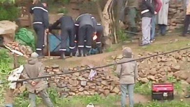 الوقاية المدنية تواصل محاولاتها لانتشال جثث شخصين من بئر بشفشاون 4