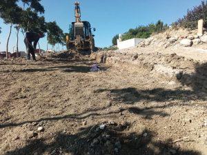 """بعد سنوات من الإهمال..مقاطعة مغوغة تشرع في تهيئة مقبرة حي """"بنكيران"""" 6"""