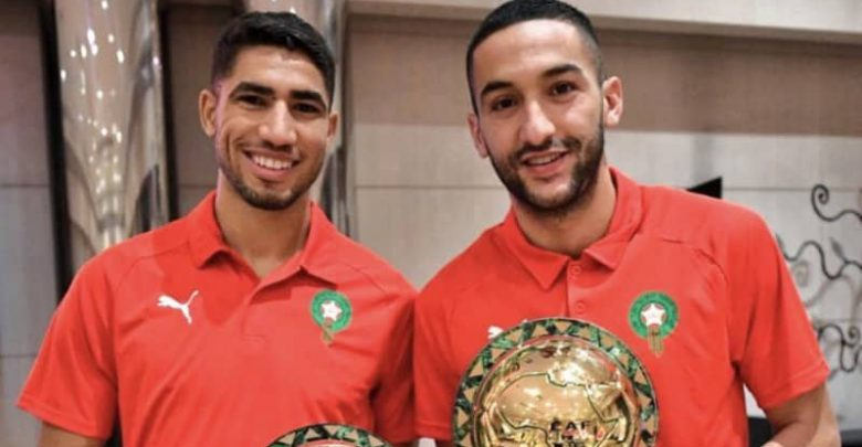حكيمي وزياش مهددان بعدم تمثيل المنتخب المغربي 1