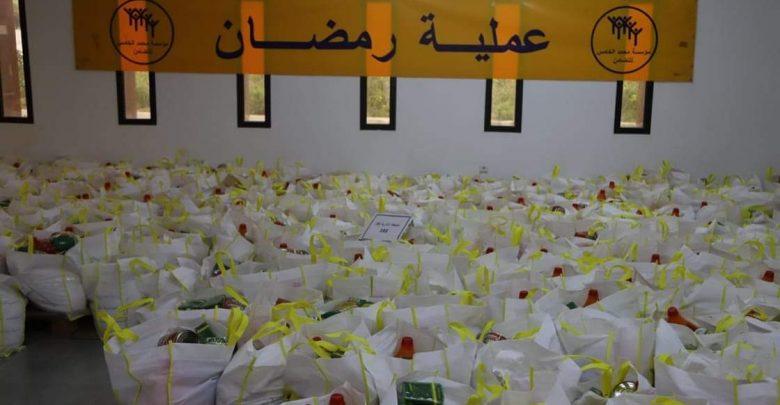 """استفادة 11 ألف و 350 أسرة من عملية الدعم الغذائي """"رمضان 1442"""" بالحسيمة 1"""