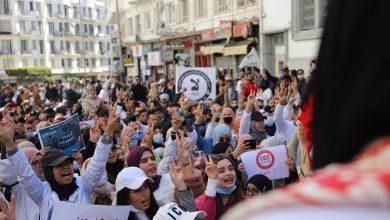 السلطات تمنع تنظيم مسيرة وطنية للأساتذة المتعاقدين 2