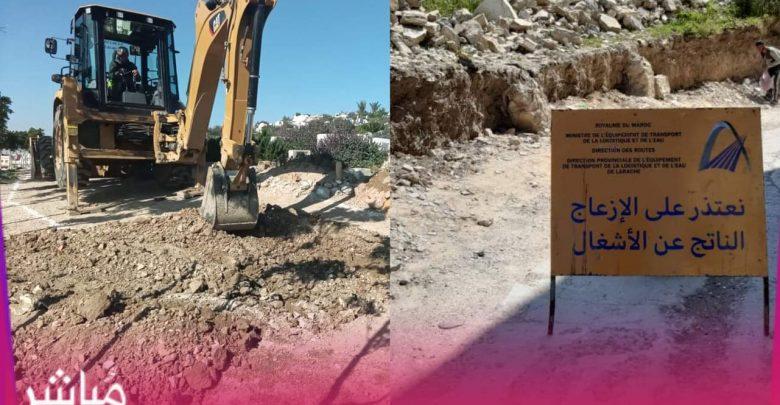 """بعد سنوات من الإهمال..مقاطعة مغوغة تشرع في تهيئة مقبرة حي """"بنكيران"""" 1"""