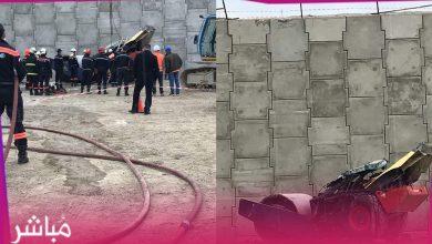 مصرع عامل في حادث مأساوي بميناء طنجة المتوسط 5