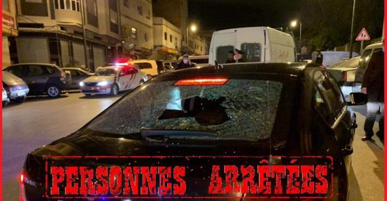 طنجة..خرق حالة الطوارئ ورشق الأمن بالحجارة يقود 4 أشخاص إلى الإعتقال 1