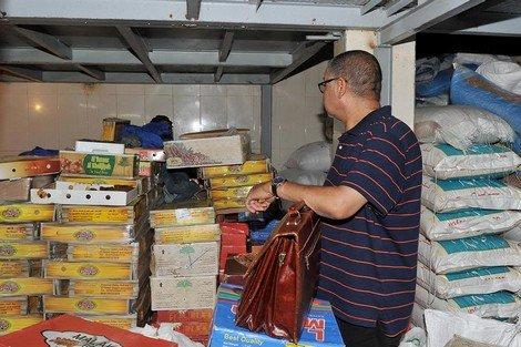 حجز وإتلاف مواد غذائية غير صالحة للاستهلاك بعمالة المضيق 1
